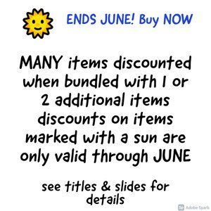 Ends 6/12/21! Bundle & BUY NOW!